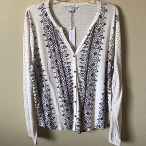 Lucky Brand Long Sleeve Soft Shirt